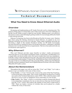 What You Need To Know About Ethernet Audio